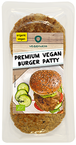 Premium Vegan Burger Patty